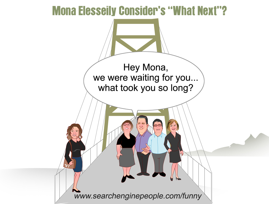 Mona Elesseily Considers What Next!