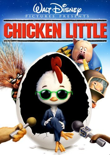 Chicken Little Anime Cartoon from Walt Disney