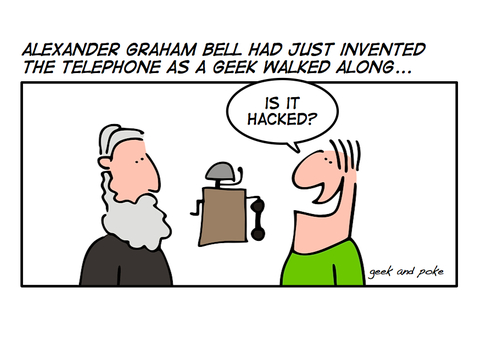 SEP Friday Funnies: the History Of The Telephone