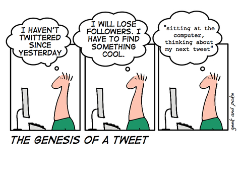 SEP Friday Funnies: The Next Tweet
