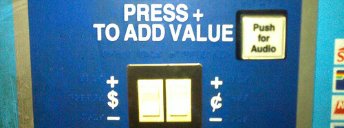 press to add value
