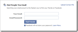 Fbook Find Your Friends