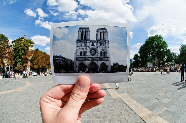 Cathdrale Notre Dame de Paris - Instax Windows