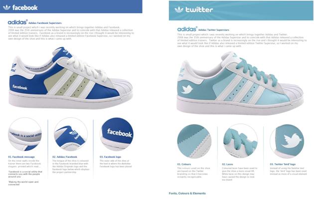 Social Media Shoes