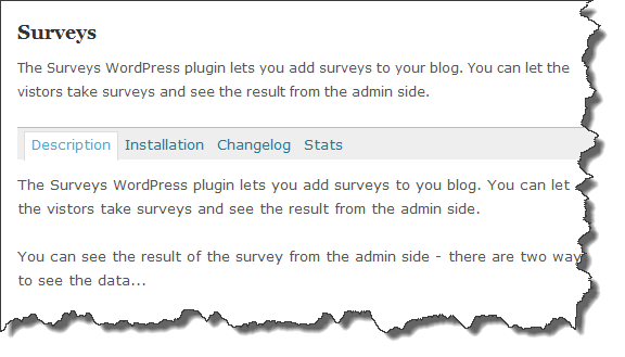 wordpress surveys