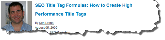 title tag how to
