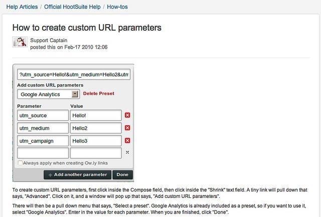 hootsuite-tracking-url-generator