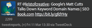 Google's Matt Cutts Talks Down Keyword Domain Names SEO Book.com