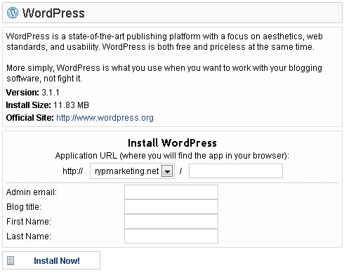 wordpress-quick-install