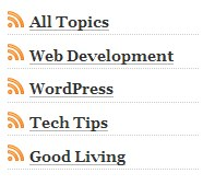 Category Specific RSS Feed | WordPress Plugin