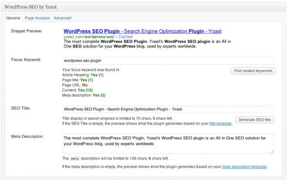 wordpress-seo-plugin | Yoast