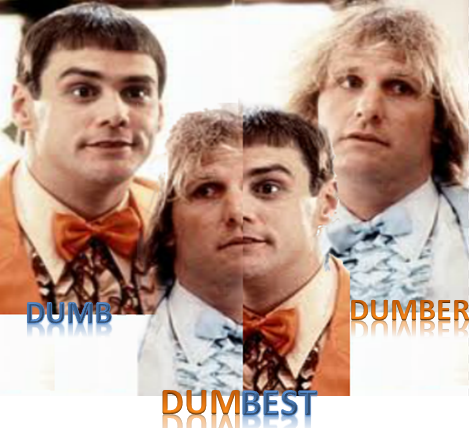 Dumb, dumber and dumbest blogging tips