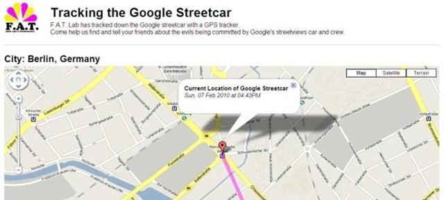 5. Google Car Tracked in Berlin_