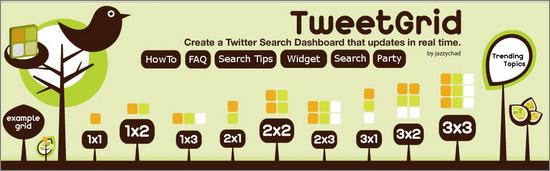Tweet Grid