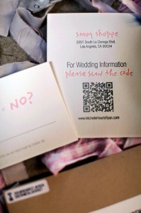 Wedding Invitation QR Codes