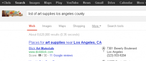 list of art supplies los angeles county - Google Search_1353574457716