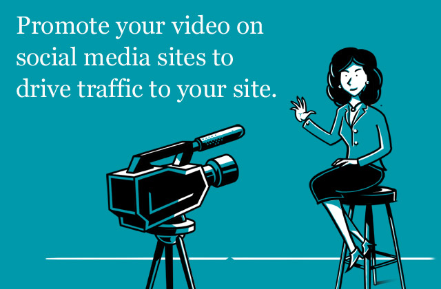 Promote your video on social media sites, McCabe Marketing orginal artwork