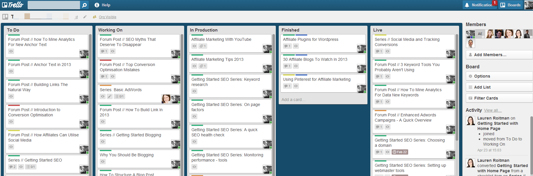 Managing Your Time And Projects With trello