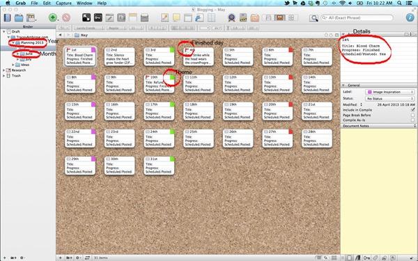 editorial-schedule-scrivener