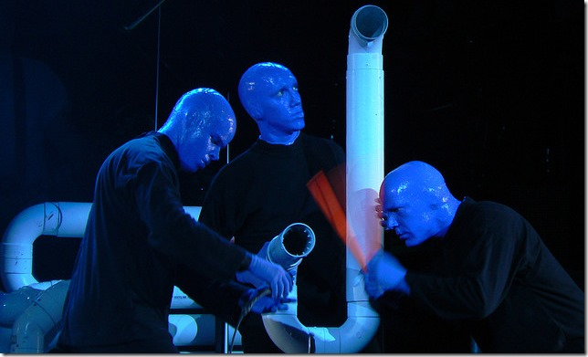 Blue Man Group : Collaboration