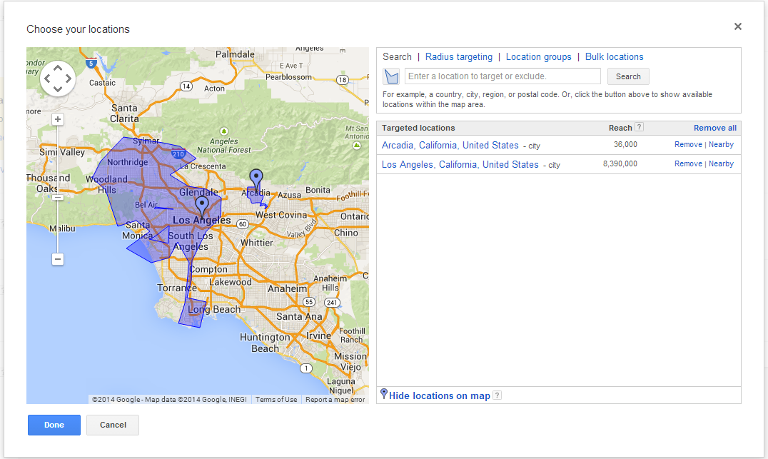 Index Of Wpcontentuploads - Los angeles dma map