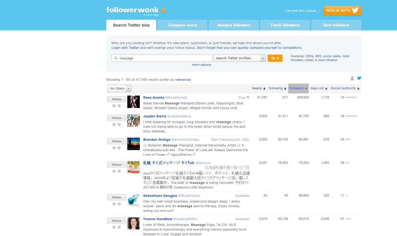 followermasage