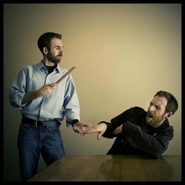 slap-on-wrist