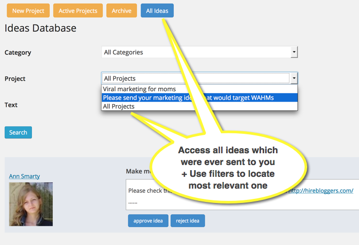 MyBlogU plugin dashboard