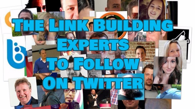 Link Building Experts on Twitter