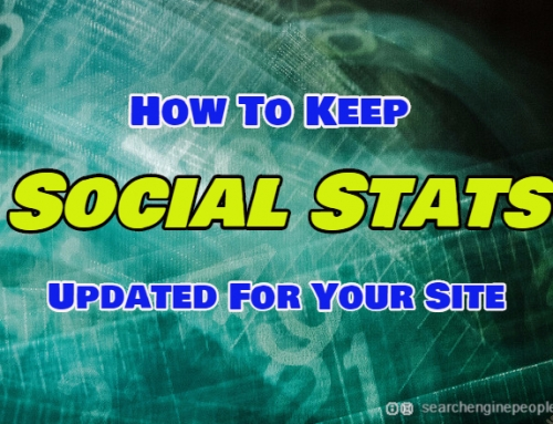 How to Keep Social Stats Updated For Your Website