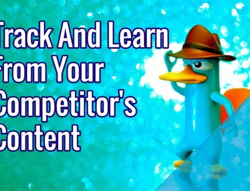 Track And Learn From Your Competitor's Content