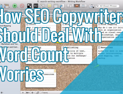 How SEO Copywriters Should Deal With Word Count Worries