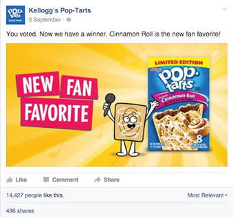 Pop-tarts Favorite Poll
