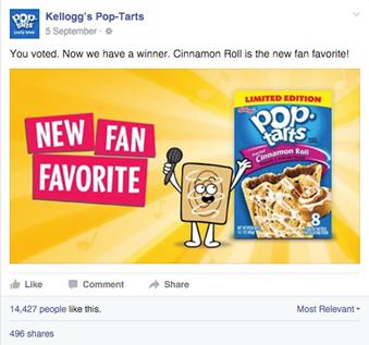 Pop-tarts Favorite Poll