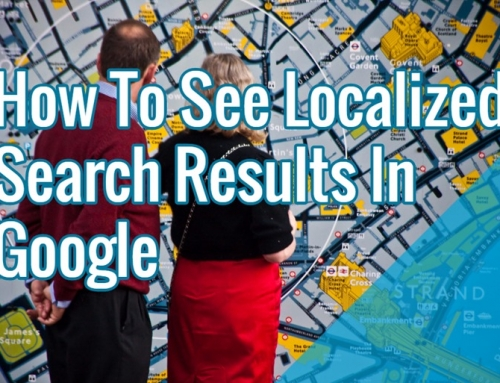 Get Local Results Without Google's Change Location Search Filter Tool