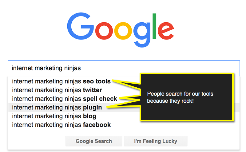 Free tools in Google Suggest