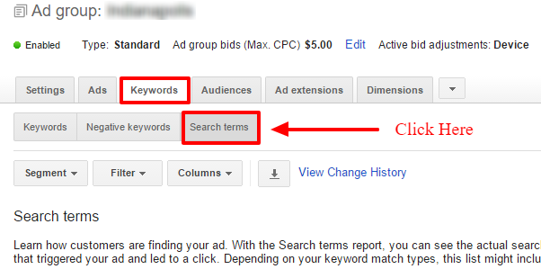 AdWords-SQR