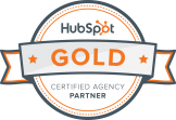 hubspot partner agency gold badge