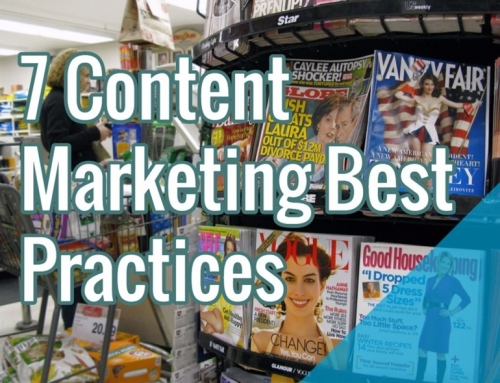 Content Marketing Best Practices For 2016