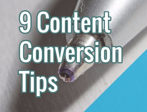 9 Content Conversion Tips