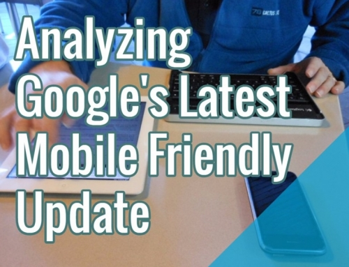 Analyzing Google's Latest Mobile Friendly Update