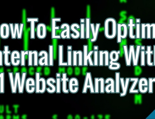 How To Easily Optimize Internal Linking With A1 Website Analyzer
