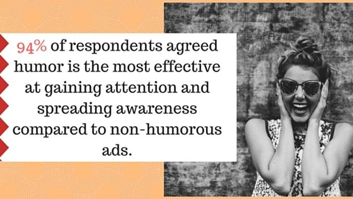 humor in ads Thinking beyond your product and more in terms of humor and entertainment can  maximize your advertising effectiveness.