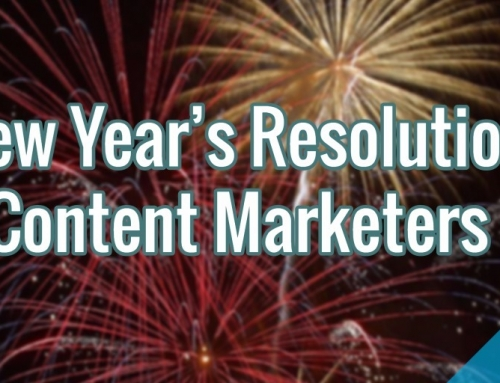 5 New Year's Resolutions for Content Marketers