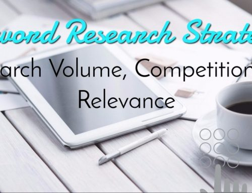 Keyword Research Strategy: Search Volume, Competition & Relevance