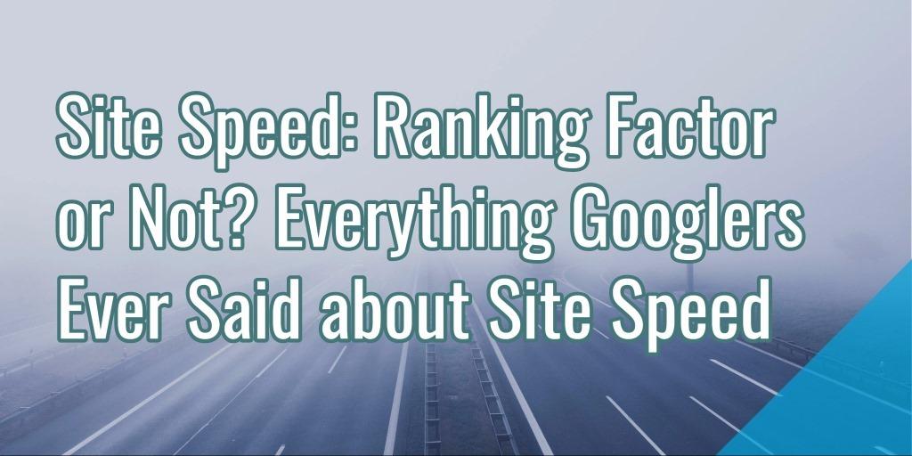 site-speed-ranking-factor