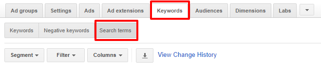 AdWords-Search-Terms-Report
