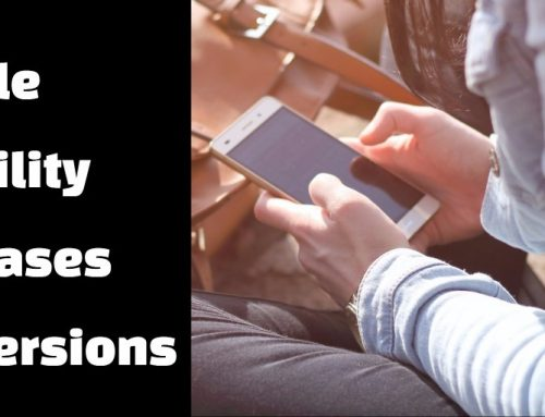 Mobile Usability Increases Conversions