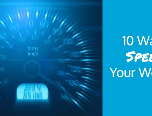 10 Ways To Speed Up Your Website