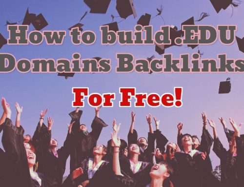 How to build .EDU Domains Backlinks for Free
